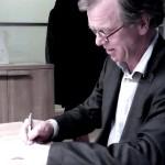Ymere (Piet Breebaart) tekent nieuwe afspraken met het Handelsbladcomplex - 23 december 2013